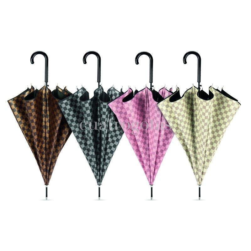 Paraguas cacharel doble tela cuadros paraguas cuatro gotas - Tela de paraguas ...
